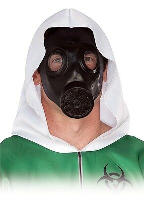 Faux Gas Mask Apocalypse Nuclear Winter