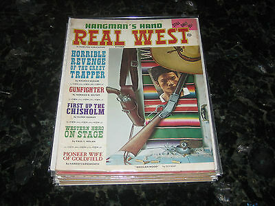 October 1968 Real West Magazine-Ed Vebell