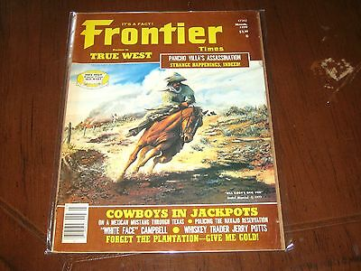 March 1979 Frontier Times Magazine-Andre Blanche