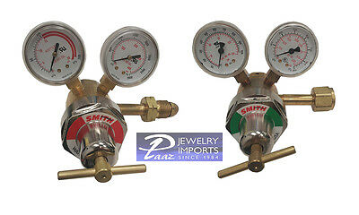 Miller-Smith Two Stage 35 Regulator Oxygen Industrial & LP Industrial Combo