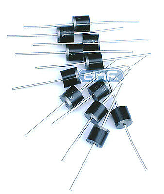 (10 PACK) Diode Rectifier 6.0 AMP 1000V - FREE SAME DAY SHIPPING!