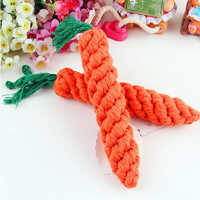 [NEW] Pet Dog Hamster Guinea Pig Rabbit Straw Carrot Chew Play Toy