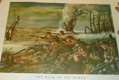 """U.S. Army In Action """"The Rock Of The Marne"""""""