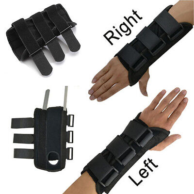 Breathable Wrist Brace Support Carpal Tunnel Splint Sprain Gym Hand Protector UK
