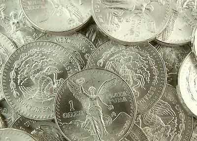 1982 Silver Mexican Libertad 1oz BU // First Year of Mintage
