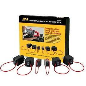 IPA 6pc Relay Tester Bypass Kit with Amp Loop #9038A