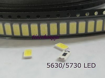 20~1000pcs high power led 0.5w 1/2w SMD SMT 5630 5730 white red green blue