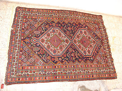 antique caucasian ? persian ? turkish ? rug carpet