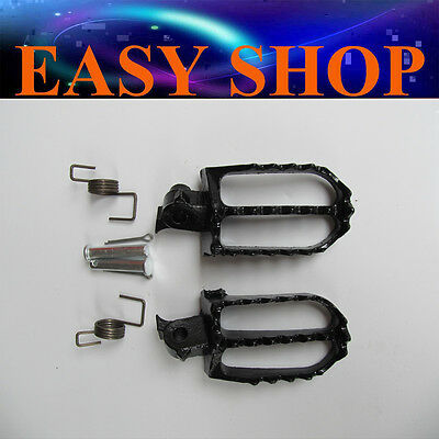 Foot Pegs Rest Pedal Footpeg CRF50 XR50 CRF70 110 125cc TTR140 YAMAHA HONDA Bike