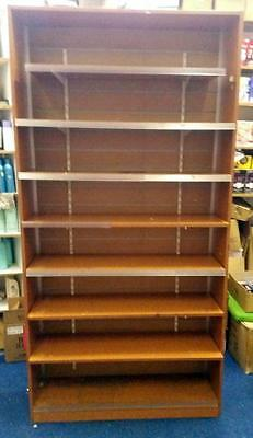 Retail Shop Fittings Wooden Display (Standalone) - Adjustable Shelves