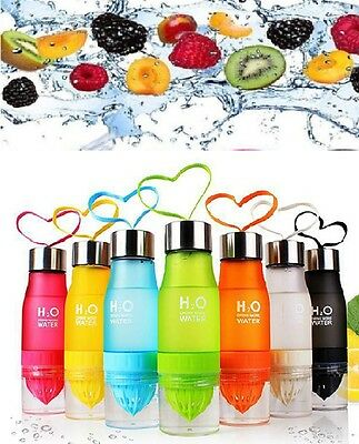 H2O Fruit Infuser Water Bottle | Detox Slimming Water Infusing | INFUSION DRINK