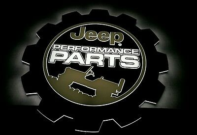 Jeep Performance Parts  LED lighted sign