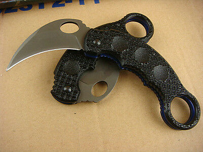 NEW Assisted Opening Knife karambit Tactical Folding Pocket Claw Saber Gift