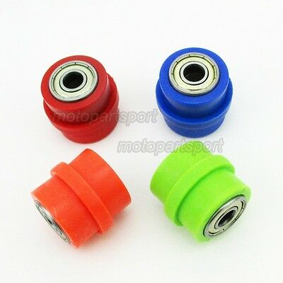 8mm Chain Roller Pulley Tensioner For Motocross Pit Trail Dirt Bike Motorcycle
