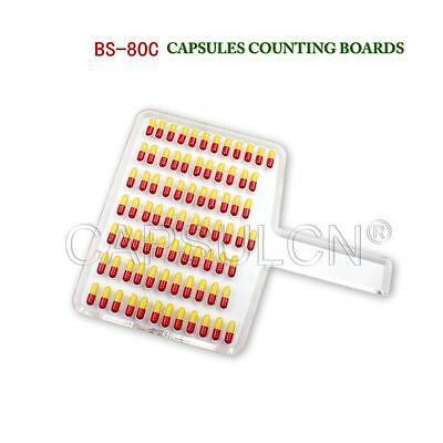 80 holes 90 holes Manual Capsule Counter Machine Counting Board