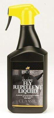 Lincoln Classic Horse Fly Repellent With Deet - 500Ml