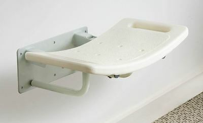 Wall Mounted Folding Fold Away Shower Seat Bathroom Stool with Grab Handles