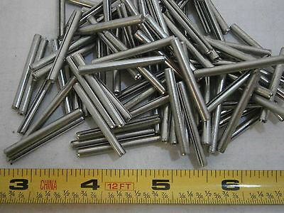 Roll Pins (Spring Pins) 1/8 x 1-1/4 Stainless Steel Lot of 40 #2909