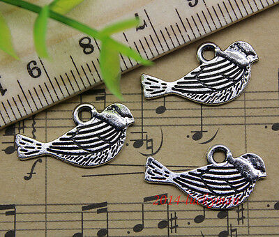 20//60//100pcs retro style lovely footprints  alloy charms pendants 11x11mm