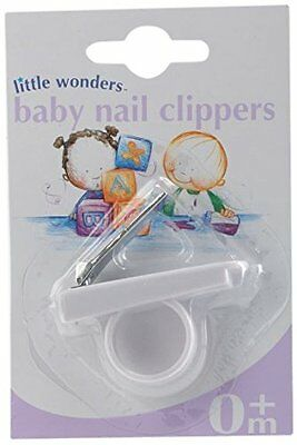 Babyway Little Wonders Baby Nail Clippers with Finger Ring Shaped 4 Newborn Baby