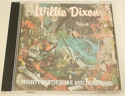 Willie Dixon - Mighty Earthquake and Hurricane CD Mighty Tiger Records BLUES
