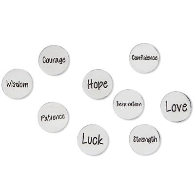 Inspirational Coins for Take What You Need Box - Set of 9 incl. Love Hope Luck