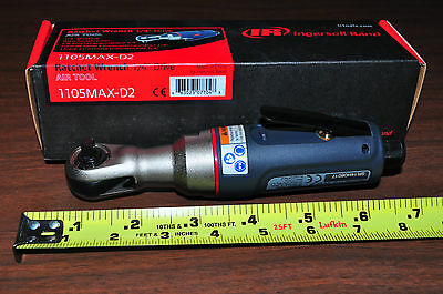 "1/4"" Drive Composite Max Mini Air Ratchet Ingersoll Rand IR 1105MAX-D2"