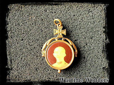 WW1 Imperial German Sweetheart Picture Photo Badge (3)