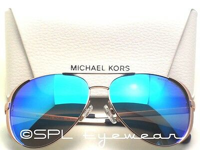 f1482a45d2 Michael Kors Chelsea Sunglasses MK5004 100325 Rose Gold Blue Mirror Lens MK  59