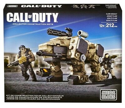 CLAW ASSAULT Mega Bloks CALL OF DUTY cod megabloks LAND WEAPON collector DCL10