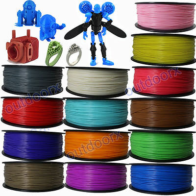 New 3D Printer Filament ABS 1.75mm 1kg/roll 27 colours AU Stock Fast Shipping