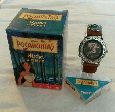 Beautiful Vintage Disney Pocahontas Watch by Timex, New in Box, Rare!