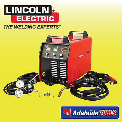 Lincoln Electric Power Craft 250C 3 In 1 Welder - K69033-1