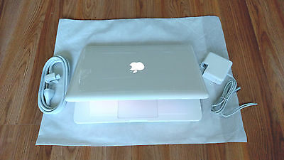 "Apple MacBook White 13""  New 500GB HDD 2.26 GHz 4GB RAM LATEST OS 2017 + Extras"