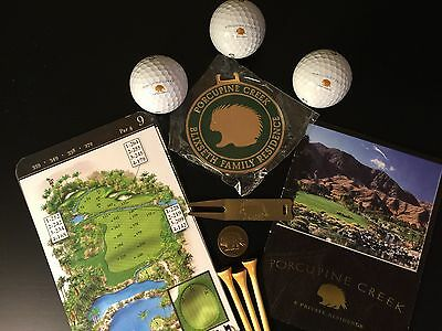 Porcupine Creek Golf Memorabilia Collection