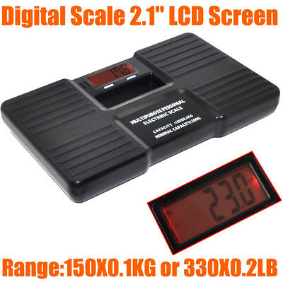 Portable 0.1kg-150kg Digital Multipurpose Electronic Scale Body Fat Weight Scale
