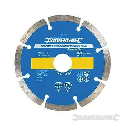 115mm Stone Cutting Discs,Diamond Blade,Angle Grinder,Concrete,Brick,Tile,Cutter