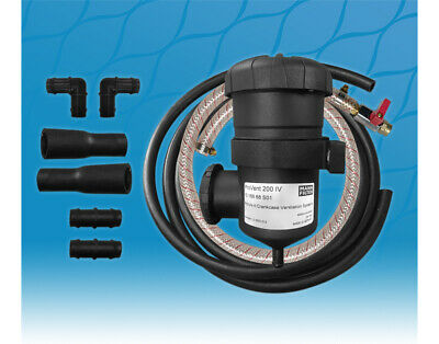 New ProVent 200 Oil Catch Filter Kit (12mm & 16mm) for Nissan Patrol Pro Vent