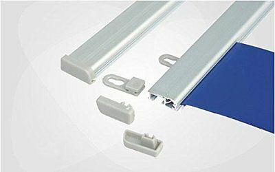 Aluminum Rail for Hanging Poster Banner Any Flexible Media up to 10 mils Thick