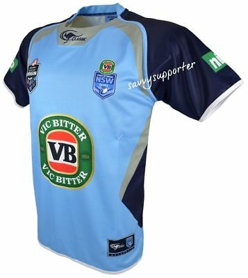 NSW Blues State of Origin Captains Jersey 'Select Size' S-4XL BNWT5 NRL