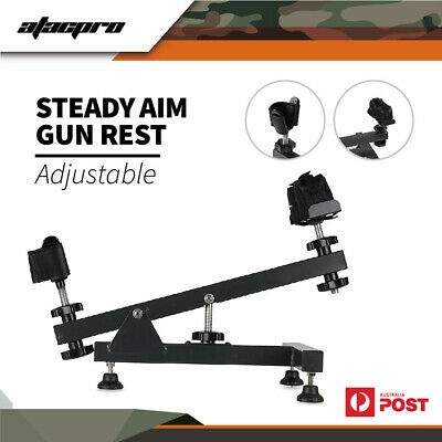 Clearance XHUNTER Shooting Steal Bench Gun Rifle Range Shoot Rest Steady Stand