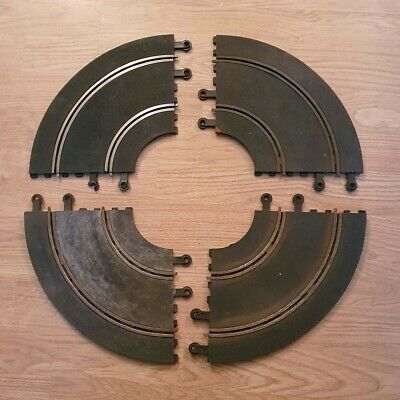 Scalextric 1:32 Classic Track - Hairpin C156 PT56 Inner Curves 90º Bend x4  #P