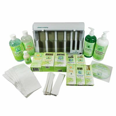 CLEAN+EASY Waxing Products 475ml ~ PRE-WAX CLEANSER/AFTER WAX REMOVER/SOOTHE ~