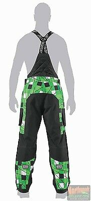 Arctic Cat FreeZone Snowmobile Non Insulated Shell Pants - Black - Lime 5250-43*