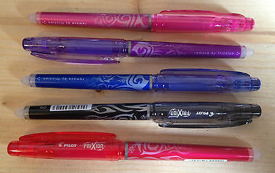 Pilot Frixion Point Erasable Rollerball Pen 0.5mm Needle Point Pen or refills