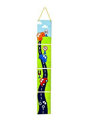 Mousehouse Boys Car Themed Wooden Height Chart