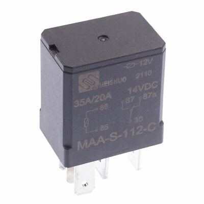 12V Micro Automotive Changeover Relay 30A 5-Pin Car Bike Van