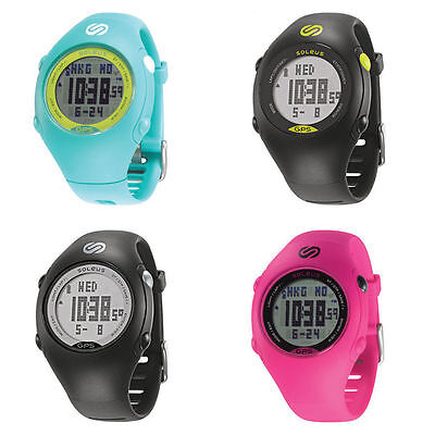 Soleus GPS Mini Running Watch Speed Distance Pace Calorie Counter 100 Lap USB