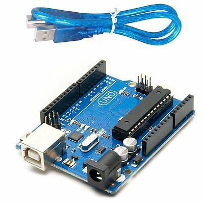 1pcs UNO R3 ATmega328P Development Board For Arduino Compatible+USB Cable A3