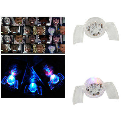 Flashing Teeth Mouth Light Up Mouthpiece LED Mouth Guard Glow Tooth Party